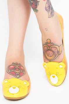 There's nothing like getting out into the sun and having fun with your pals! These Funshine flats are perfect for playtime! Gyaru Fashion, Pastel Fashion, Kawaii Fashion, Funshine Bear, Cute Flats, All About Shoes, Care Bears, Iron Fist, Dream Shoes