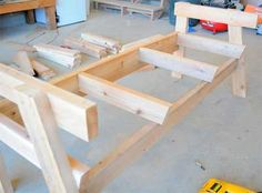 How to Build Your Own Double Bench Chair - Woodworking Session Woodworking Projects Diy, Woodworking Bench, Diy Wood Projects, Furniture Projects, Woodworking Equipment, Woodworking Forum, Furniture Websites, Furniture Market, Woodworking Magazine