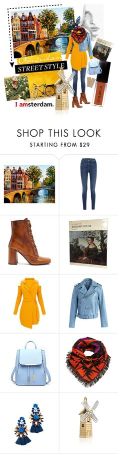 """""""I AMsterdam."""" by laislabonita88 ❤ liked on Polyvore featuring J Brand, Prada, Chicwish, Lizzie Fortunato, Elizabeth Cole, Jet Set Candy, Henri Bendel, Amsterdam, Netherlands and outfitsfortravel"""