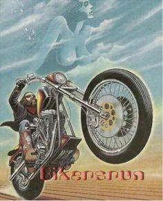 The best David Mann Art trending Motorcycle Art, Bike Art, Art Harley Davidson, Rockabilly, David Mann Art, Easy Rider, Cool Motorcycles, Cycling Art, Cool Bikes