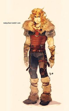 Male!Astrid by Maby-chan.deviantart.com on @deviantART