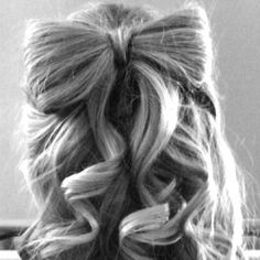 Amanda. I'm doing my hair like this. Probably for your wedding.