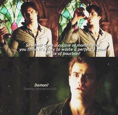 TVD As much as I LOVE delena Stefan and Damon need each other more then they need her Vampire Diaries Damon, Vampire Diaries Quotes, Vampire Diaries The Originals, Damon Salvatore, Paul Wesley, The Salvatore Brothers, Damon And Stefan, Hello Brother, Vampier Diaries