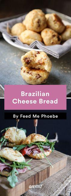 2. Brazilian Cheese Bread #healthy #Brazilian #recipes http://greatist.com/eat/brazilian-recipes-that-are-surefire-winners