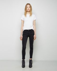 ACNE STUDIOS | Skin 5 Used Black Jean | Shop at La Garçonne
