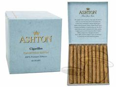 Ashton Connecticut Cigarillos 3 3/4 x 26—Small Packs: 100 Cigarillos - Best Cigar Prices