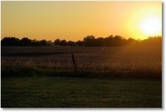 View from Spring Lake Campground near Halstead, Kansas