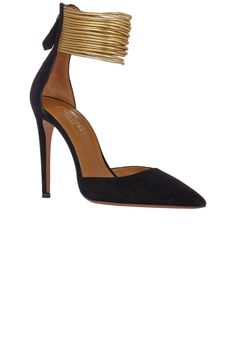 Comfortable heels are all in the name. It's about the arch, cushion and flexibility of the shoe
