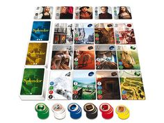 Now Splendor has filled the void. Fast-paced, easy to pick up, and (at least on the surface) heavily mathematical, Splendor is an addictive strategy game. As you collect gems (in the form of hefty poker chips) and advance your business by reserving and purchasing prospectors, jewelers, or secrets to exotic locales (the cards)—you might just find that what you're really after is a way to screw over the friends you're playing with. Isn't that what precious stone mining is all about?