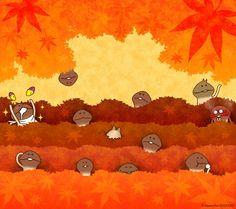 Mushroom Garden wallpaper ~ fourth one!