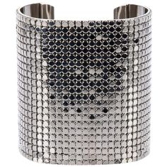 PACO RABANNE VINTAGE 'Disco' Bracelet cuff ($515) ❤ liked on Polyvore