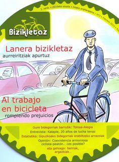 Al trabajo en bicicleta : rompiendo prejuicios