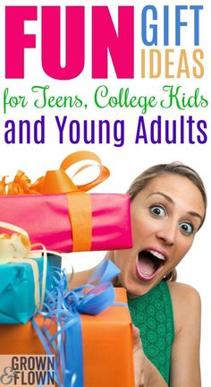 Best 2019 Gift Ideas for the Holidays That are Just for Fun! : What are the holidays without a few, just-for-fun presents for everyone on your list? Here are our best gift ideas for your teens, college kids, and young adults, too. Teen Christmas Gifts, Christmas Fun, Young Adult Christmas Presents, Christmas Gift Ideas For Teens, Christmas Goodies, Fun Ideas, Christmas Ideas, Craft Ideas, Cool Gifts