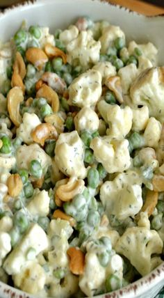 Crunchy Cauliflower and Cashew Salad