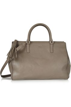 Anya HindmarchPimlico leather tote on sale from $1,595 to $558! :)