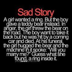 LOL i'd feel bad if that happened lol