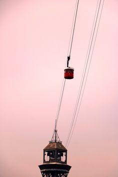 Teleférico del Puerto.  #Barcelona #Spain #Cableway #Barceloneta #Sghtseeing #Sky #Tour