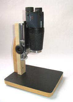 A Simple DIY  Stereoscopic Microscope
