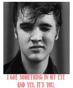 Elvis Valentine's Day Cards