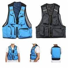 2e6d510ccab Multi Pockets Fishing Hunting Mesh Vest