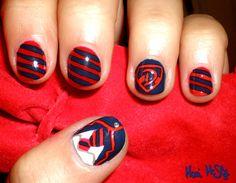 dalton warblers glee nail art