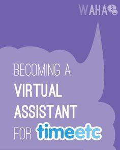 Virtual Assisting at Time etc Making Money, Making Money Ideas, Making Money Online