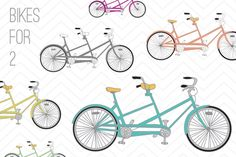 Bicycle Clip Art - Luvly Marketplace | Premium Design Resources #bicycle #clipart