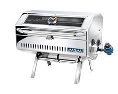 Magma Products Newport 2 Infra Red Gourmet Series Gas Grill Polished Stainless Steel -- To view further for this item, visit the image link.(This is an Amazon affiliate link and I receive a commission for the sales)