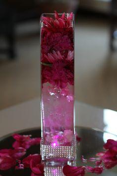 #Wedding center pieces  #Carlsbad,Ca  oceanblosalon.com
