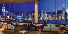 Lobby Lounge with Skyview | Intercontinental, Hong Kong