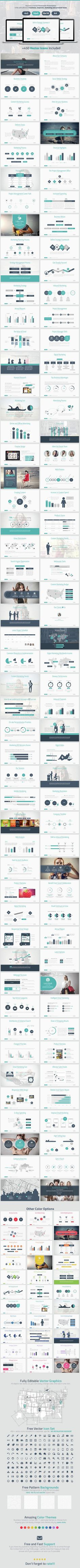 Marketing Strategy Powerpoint Presentation Template #slides Download here…