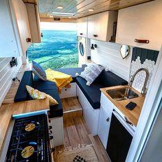 Van Conversion Layout, Van Conversion Interior, Camper Van Conversion Diy, Van Interior, Wolkswagen Van, Kombi Motorhome, Kombi Home, Bus Living, Van Home