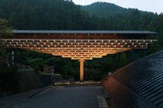 Yusuhara Wooden Bridge Museum / Kengo Kuma