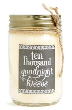 Free shipping and returns on PRIMITIVES BY KATHY 'I Love You - Autumn Romance' Mason Jar Candle at Nordstrom.com. Spread a little love in any living space with this mason jar candle fronted with a sweet sentiment.