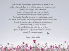 IRINA BINDER - Insomnii: Citate din cartea Fluturi Feelings And Emotions, Timeline Photos, True Words, Holidays And Events, Binder, Cool Words, Life Quotes, Place Card Holders, Inspirational Quotes