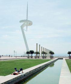 Torre Calatrava/Barcelona, España Barcelona Catalonia, Olympic Village, London Now, Santiago Calatrava, Maybe One Day, Athens, Architecture Design, Spain, Barcelona Spain