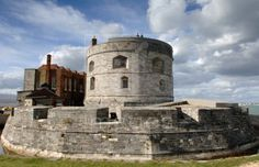 Calshot Castle, Calshot Spit, Hampshire, England, UK: view of Tudor Castle