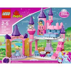 NATALIE:  Shop for the LEGO DUPLO Disney Princess Cinderella's Castle at an always low price from Walmart.com. Save money. Live better.