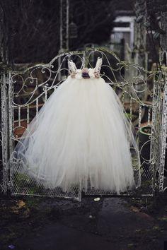 TUTU FLOWER GIRL Dress: The Hayden dress, size 4t-6. $85.00, via Etsy.