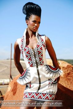 Can't find original image, but this is fab!  African Fashion #2dayslook #AfricanFashion #nice  www.2dayslook.nl