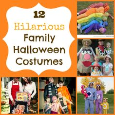 12 hilarious family halloween costume ideas! these will crack you up!!!