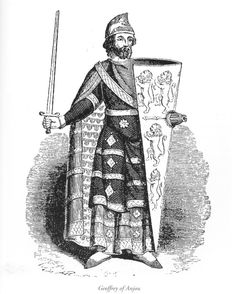 Geoffrey V, Count of Anjou, Queen Matilda's second husband was born on the 24th if August, 1113. He was knighted on the 10th of June, 1128, by Henry I. In 1128, it was arranged that Geoffrey would marry Matilda to seal peace between England/Normandy and Anjou. He was thirteen and she was twenty-three.