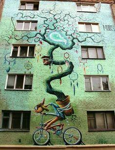 Murals Street Art, 3d Street Art, Urban Street Art, Best Street Art, Amazing Street Art, Art Mural, Street Art Graffiti, Street Artists, Wall Street