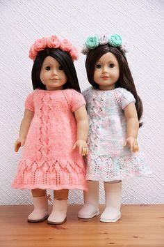 Knitting Pattern for American Girl Doll Lana Summer von StassyDodge