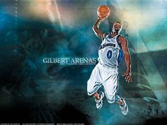 What does Gilbert Arenas toss into the crowd after every game? From #1 #NBA QUIZ App www.nbabasketballquizgame.com