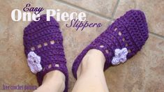 Designed by:   Crafts by Starlight   Materials:   Lion brand Yarn; Wool-ease Chunky, One skein Violet.   Hook Size : J-10   Woman's slip...