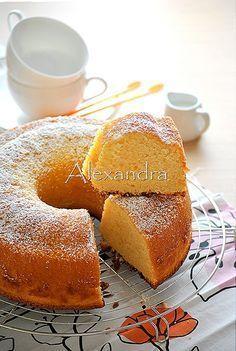 Κέικ με άρωμα μαστίχας