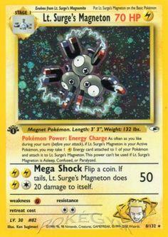 Lt. Surge's Magneton | Lightning Pokemon | HP: 70 |