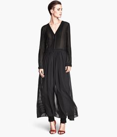 Chiffon, pleating, h&m
