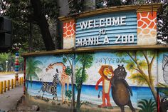 Visit the Manila Zoo, recently upgraded.